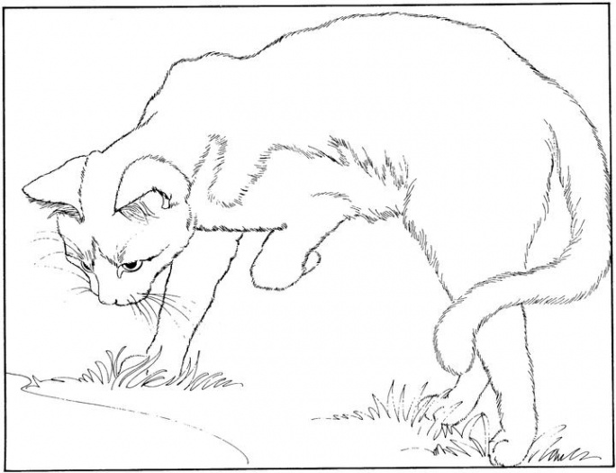 Splat The Cat Coloring Pages #3