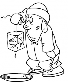2014 ice fishing coloring pages