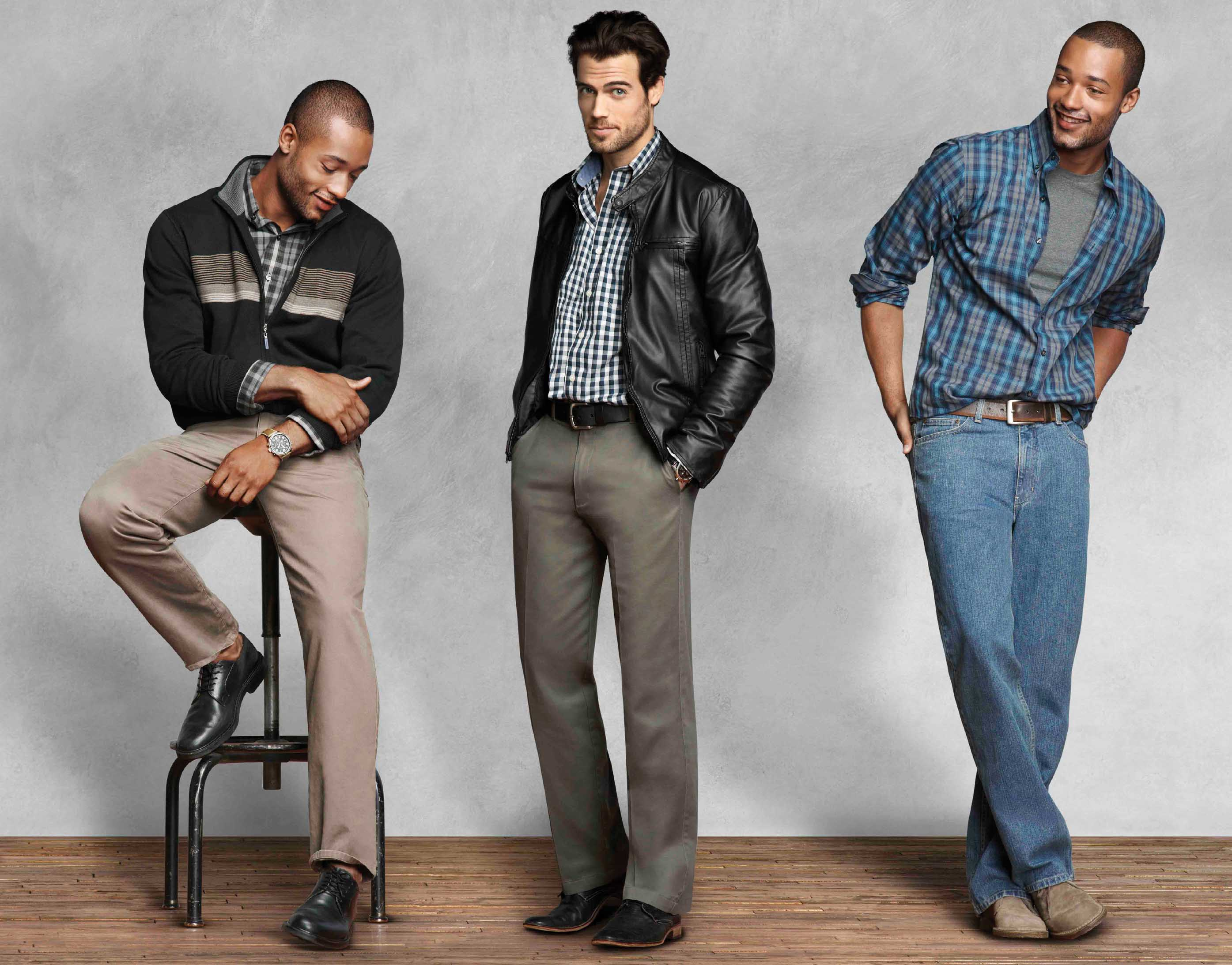 men's casual clothing - 1000×783
